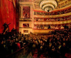 Besnard - Premiere d'Hernani - 1830 - Théâtre Français