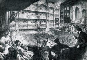 grande salle de l'opéra Pelletier - Paris