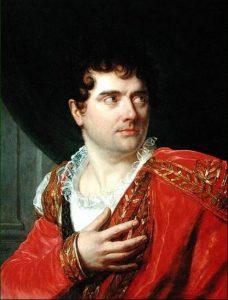 François Joseph Talma (1763-1826), tragédien